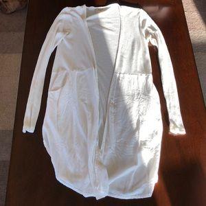 White king cardigan